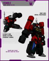 CYBERTRONIAN RUMBLE by F-for-feasant-design