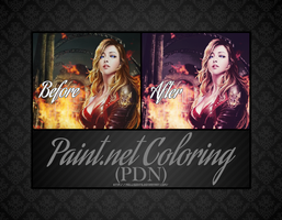 Burn It Up [PDN Coloring] by MellisEdits
