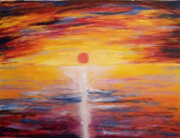 Sunset2 by oiltocanvas
