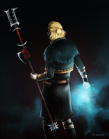 Dragon Age - Anders by Ami-Fly
