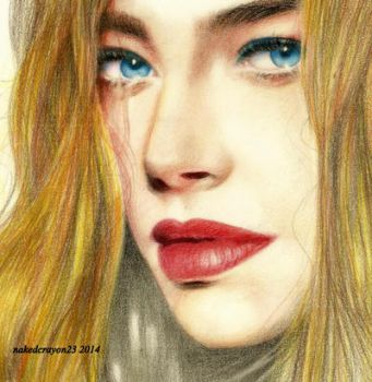 denise richards drawing by nakedcrayon23