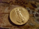 American Gold Bullion Coin Front by GuillotineChan