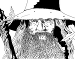 Gandalf by ladyjart