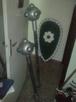 LARP maces by coalheart