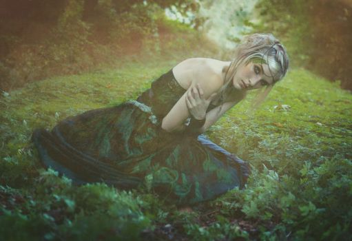 In the Forest Lies Her Comfort by SmokyPixel