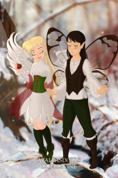 Oscar and Andre as Fairies by Tiggidou