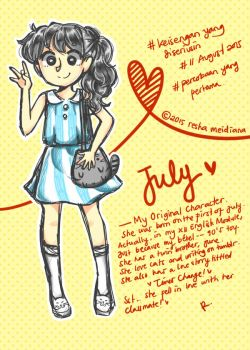 Hi, This is July by reshaaechaa