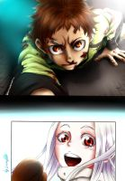 Deadman Wonderland Ganta Igarashi and Shiro by LissaAller