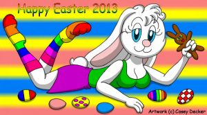 Happy Easter 2013 by CaseyDecker
