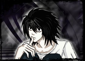 L Death Note by Szandy98