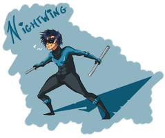 Nightwing by DaPandaBanda
