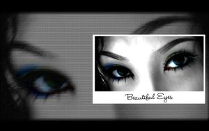 "Beautiful Eyes  ""dark"" by crazySmiley"