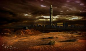 City 17 Outside Wasteland View by unI3ind
