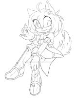 YCH COLLAB WITH Nyxiare - Lineart DO NOT COLOR! by xKittyRaver