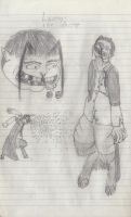 Lucious, The Waster concept sketch 2013 by WallowBlacklake