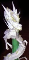 PaperCraft - Dragon by FroZnShiva