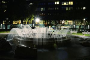 Wahrenberg Fountain by HenrikSundholm