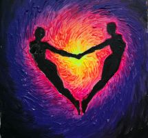 Soulmates or the energy of love by CORinAZONe