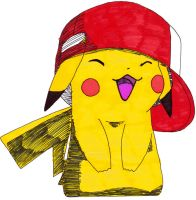 Pika chu 3 by frecklesmile