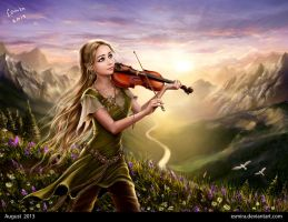 Music of sunrise by Esmira