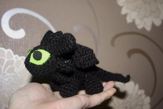 Toothless Amigurumi by Soggy-Wolfie