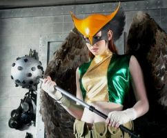 Hawkgirl Cosplay by downtowndave