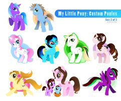 My Little Pony:Custom Ponies 2 by rincharmie