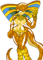 OC: Nefertiti by genocyber