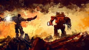 WARHAMMER : GOD MACHINES by JohnBergin