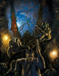 Call of Cthulhu by sonofamortician