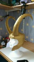 Loki Helmet by wingedLizz
