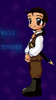 Will Turner Chibi by RyogaFan4Ever