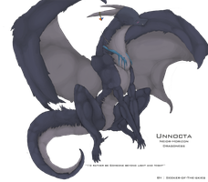 :: Dragoness Unnocta :: Ref by seeker-of-the-skies