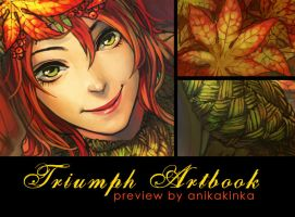 Triumph Artbook: Winning With the Leaves by anikakinka