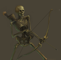 Skeleton Archer by PitBOTTOM