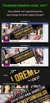 Facebook Timeline Cover template 7 by sktdesigns