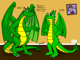 Duncan Dragon Past and Present by Ross-Sanger