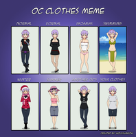 Kavrin - OC Clothes Meme by T1p2