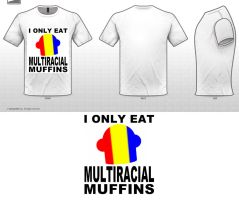 Multiracial Muffin ver. 2 by ChaosBlacke