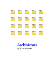 Archivicons x 24 by monsteer