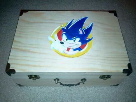 Sonic Chaos Emerald Box by SonarX