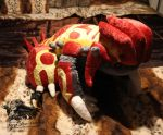 Primal Groudon Plush - Pokemon Alpha and Omega by Forge-Your-Fantasy