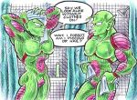Piccolo And Nail After Shower by blackhellcat