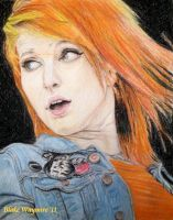 Hayley Williams Colour by DarkCalamity