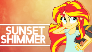 [4K] Sunset Shimmer - Confidence II by DazzioN
