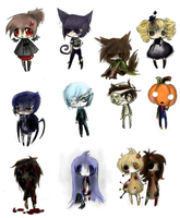 spooky Adoptables free by owodoomkitty