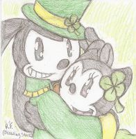 For St. Patrick's Day by DrawingStar12