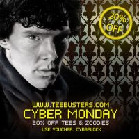 Cyber Monday with Sherlock! by Teebusters