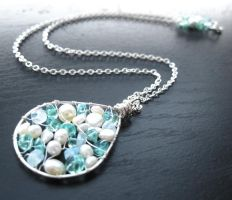 The Moon and the Sea by AtlantisAK-Jewelry