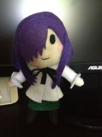 Katawa Shoujo- Hanako Plush by z3ro-hour